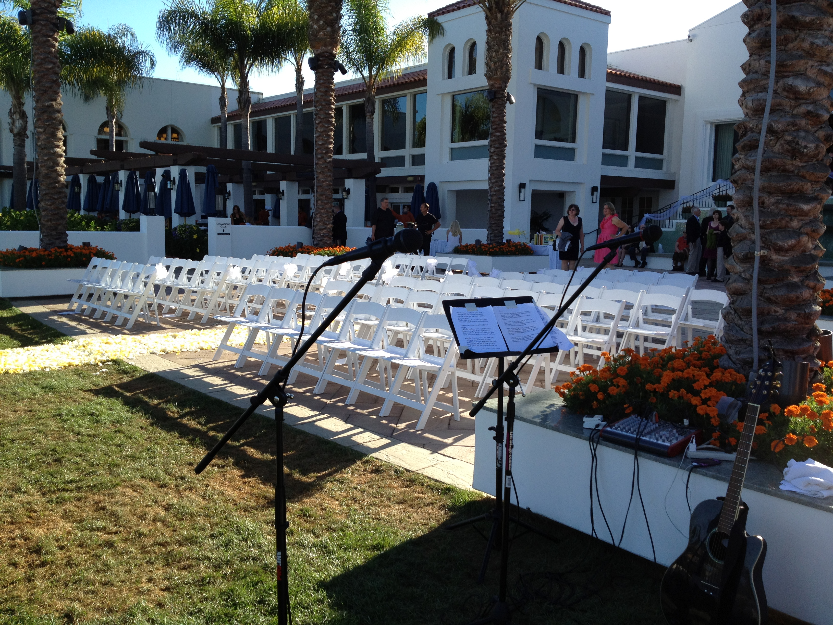La Costa Resort, Carlsbad, CA - Wedding ceremony